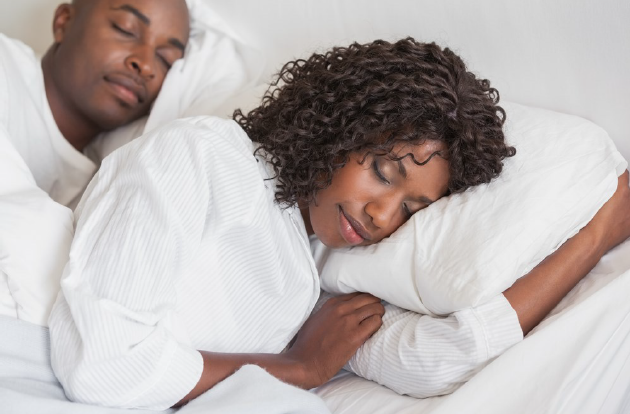 image of people sleeping