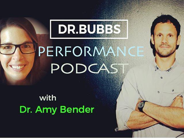 Dr. Bubbs Performance Podcase interview with Dr. Amy Bender