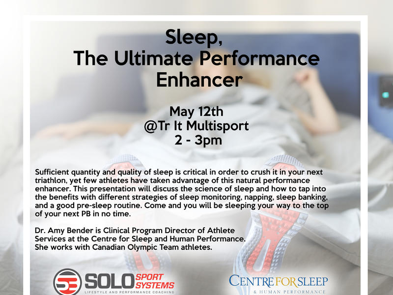 sleep talk flyer image