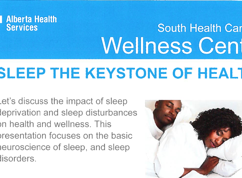 Sleep: The Keystone of Health